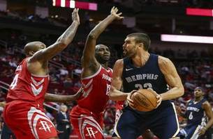 grizzlies live to go: grizzlies get a come from behind road win against the rockets 98-90