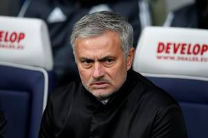 Jose Mourinho snubbed by own Manchester United star in Best FIFA voting for coach of the year
