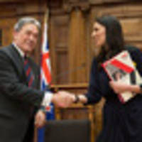 double act: jacinda ardern and winston peters' first joint press conference