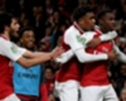 thierry henry 'not surprised' by nketiah heroics for arsenal