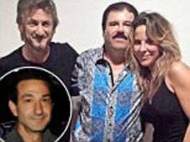 el chapo producer: if sean penn is harmed it his own fault