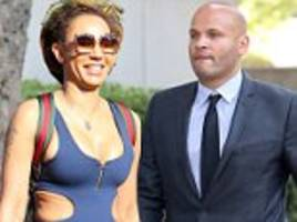 mel b appears 20 sex tapes to be used in divorce trial
