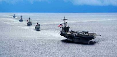 us deploys third aircraft carrier to western pacific ahead of trump's visit