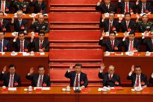 xi jinping secures 2nd 5 year term as head of china's ruling communist party