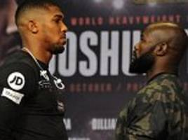 joshua-takam: undercard, channel, time, tickets and odds