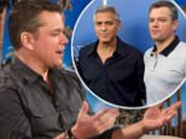 matt damon does not give george clooney advice on twins