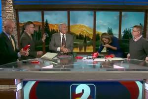 watch local tv anchor puke on camera after eating extra spicy chip (video)