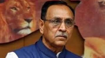 bjp will contest elections on development and nationalism issue: gujarat cm rupani