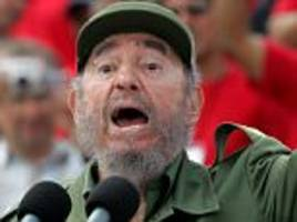 cia's plans to assassinate castro with wetsuit or seashell