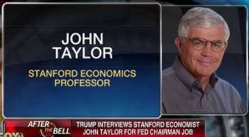 fed candidate taylor courts trump and downplays his rule (again)