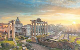 if ancient ruins you do seek, then pop to rome and take a peek