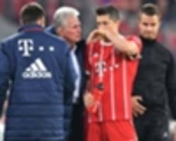 'it's not too serious' - lewandowski provides positive update on injury