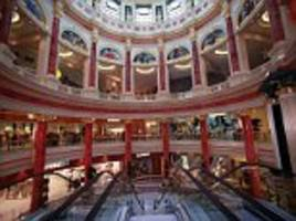 boy, 15, falls from bridge at manchester's trafford centre