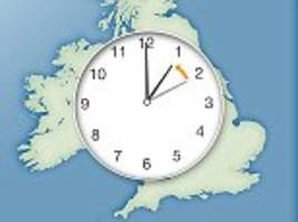 don't forget the clocks go back an hour at 2am tonight