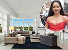 rihanna's new york duplex in listed for $17million