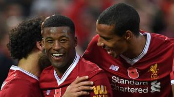 liverpool overpower huddersfield with stirring second-half display
