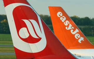 easyjet has taken off with a €40m part of air berlin
