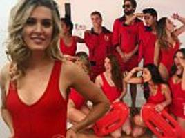 eugenie bouchard channels her inner-baywatch for halloween