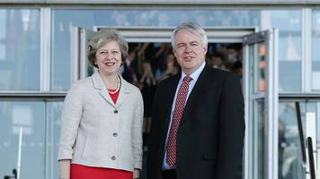brexit: theresa may and carwyn jones to meet