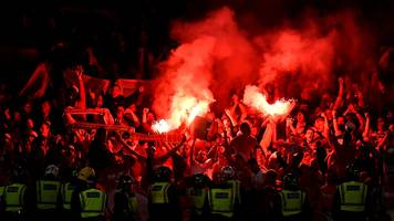 cologne fined £53,000 for arsenal trouble
