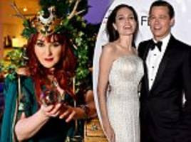 white witch warns angelina jolie against using spells