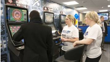 bookmakers' shares end higher