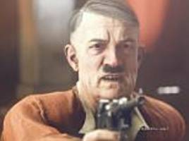 hitler's moustache is censored in video game in germany