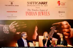saffronart and sd corp successfully presented the timeless legacy of indian jewels - a symposium