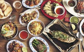 himalayan sharing plates in a 'dining den'? it's this week's working lunch