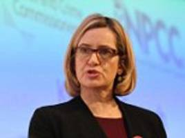 police chiefs are told by rudd to focus on cutting crime