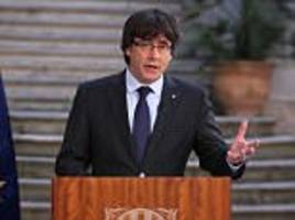 ex-catalan president 'is planning to copy julian assange'