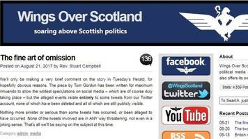 no police action against wings over scotland blogger