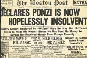 the biggest ponzi in human history