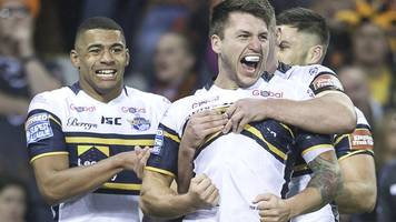 super league fixtures 2018: leeds rhinos start at warrington wolves