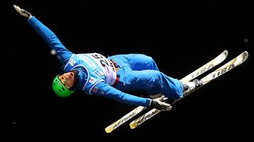 100 days to pyeongchang 2018: gb skier lloyd wallace back in winter olympic training two months after coma