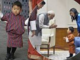 crown prince jigme of bhutan wins the hearts of royal fans