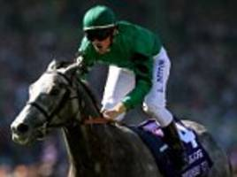 i'll be lucky to stay on the track, claimsfrankie dettori