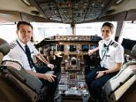 father-daughter ba pilot team fly together for final time