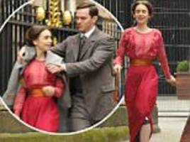 lily collins and nicholas hoult film jrr tolkien biopic