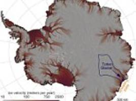 strong winds are causing totten glacier to melt