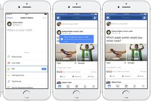 Facebook rolls out GIF-supported polls feature to web and mobile apps