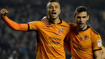 wolves four points clear after beating fulham