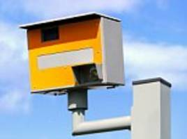 half of uk speed cameras are not switched on