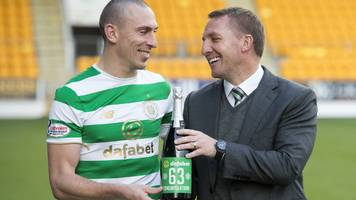 celtic: incredible feat to beat 100-year-old british record - brendan rodgers