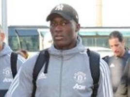 man united stars travel to london by train to face chelsea