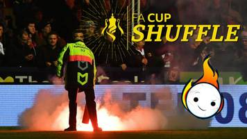 fa cup shuffle: backflips, flares, worldies & funnies from the first round
