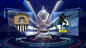 fa cup highlights: notts county 4-2 bristol rovers