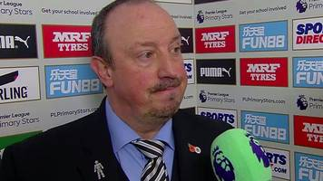 newcastle 0-1 bournemouth: rafa disappointed to concede late goal