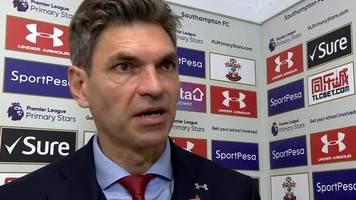 southampton 0-1 burnley: mauricio pellegrino says saints were better than clarets except for one moment