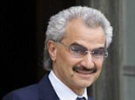 billionaire prince alwaleed bin talal 11 princes arrested